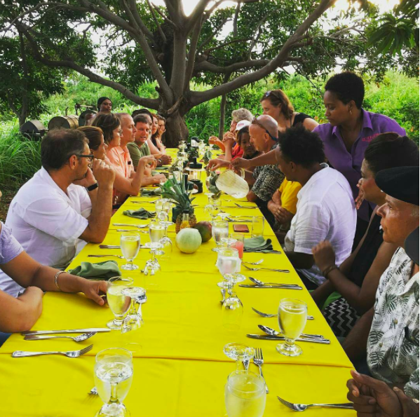 Farm to Table - MYS Board Member, Polly Legendre, collaborated with the Jake's Resort chef team to put on this amazing fundraiser dinner on the farm. Benefiting BREDS, this dinner was