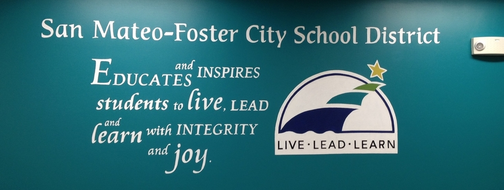 Mural at a School District Offices