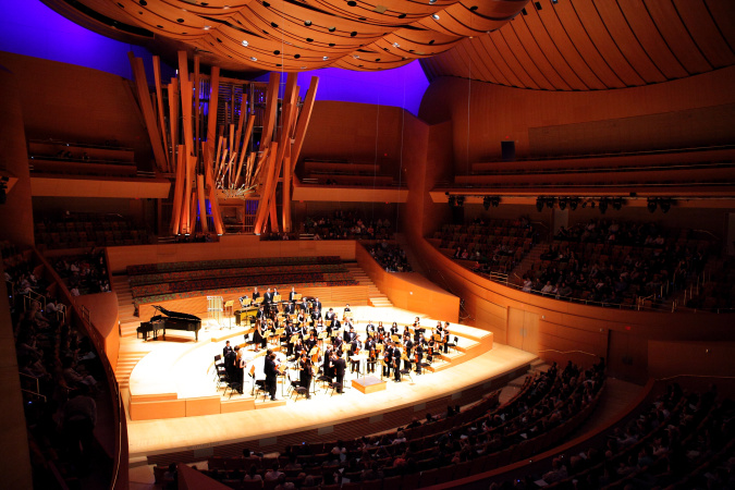 SCVYO plays at Disney Hall