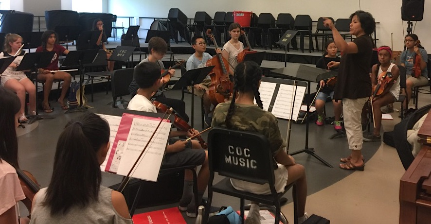Summer Camp 2017 Orchestra Rehearsal