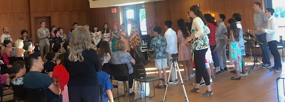 Summer Camp 2017 All Ensembles Perform Rhythmic African Songs