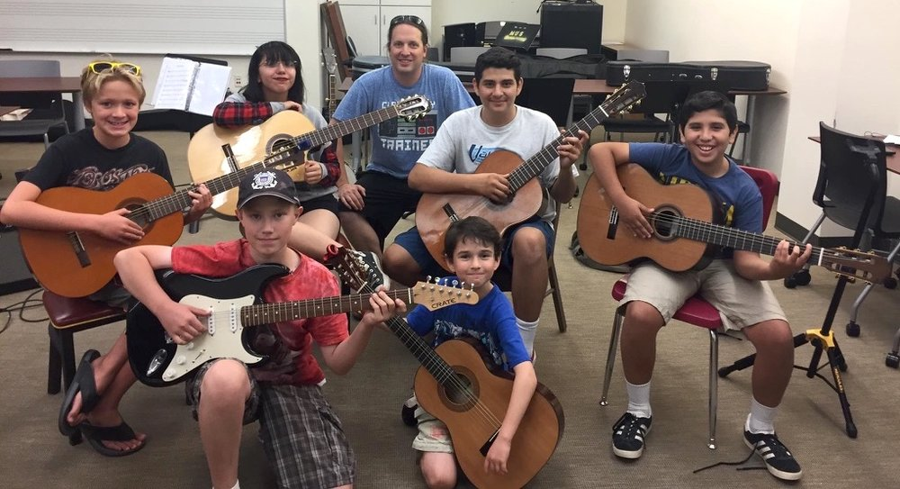 Summer Camp 2017 Guitar Ensemble