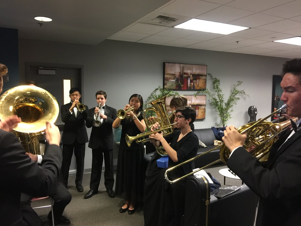 SCV BRASS ENSEMBLE PREP FOR SCV PAC PERFORMANCE MAR 2018.JPG