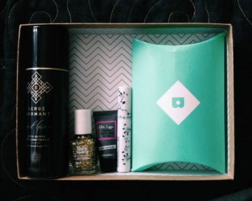 getting my birchbox in the mail each month