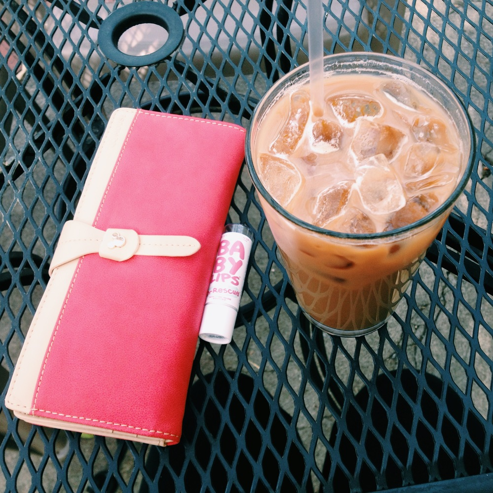 In a tragic twist of fate I destroyed my old wallet via kombucha submersion. It was my favorite so any new wallet had big shoes to fill. I got real lucky with this QQ Mouse wallet from etsy. I also don't regret buying this Baby Lips chapstick or this iced vanilla hazelnut latte.