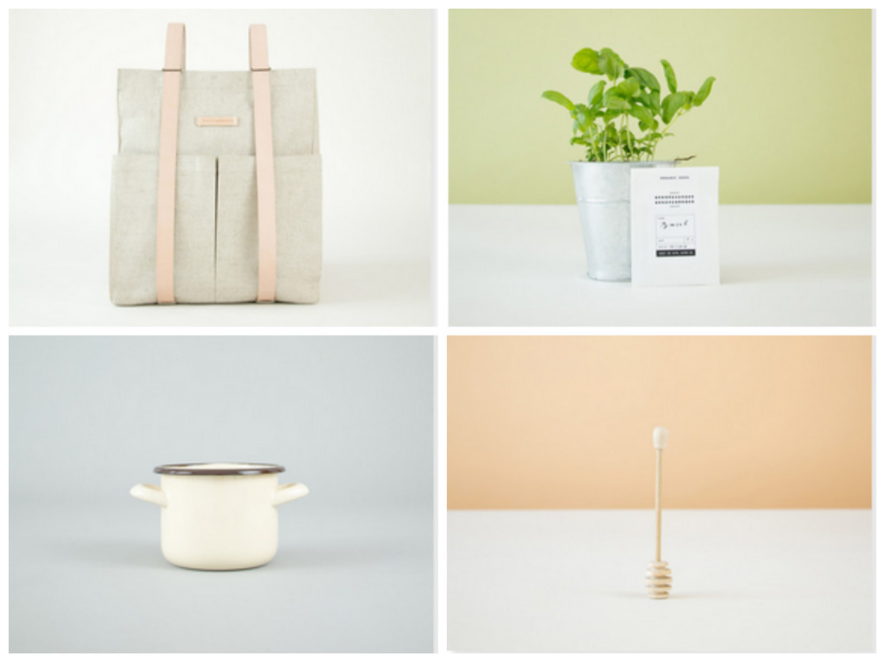 homewares, rucksacks and garden supplies from this is paper