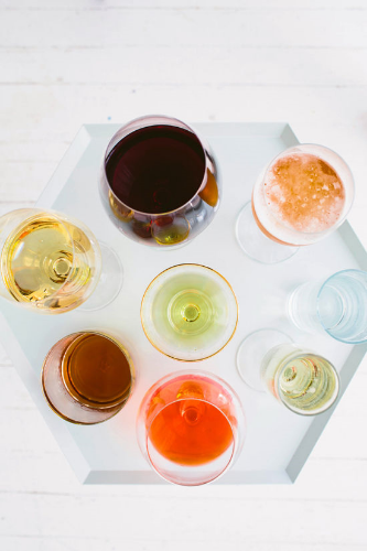 bri's post on everything you need for your home bar cart