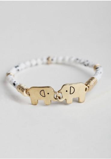 playing with elephants bracelet