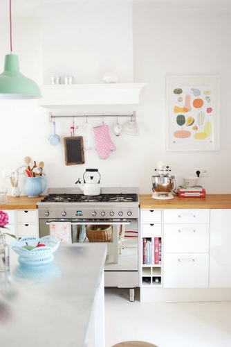 this pastel kitchen from the kitchn