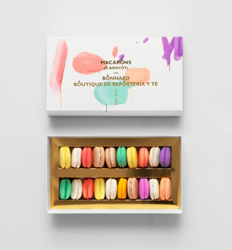 macarons packaging by bonnard