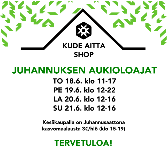 Kude Aitta summer pop up