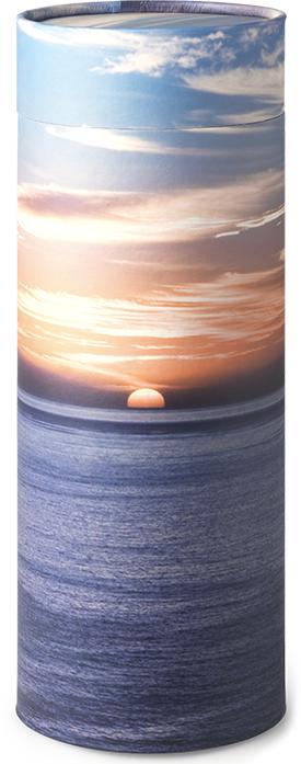 Urne med havmotiv