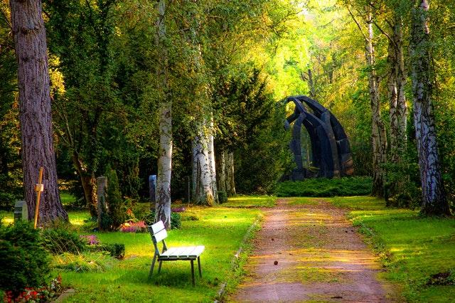 Begravelse med bedemænd kan foregå i skov