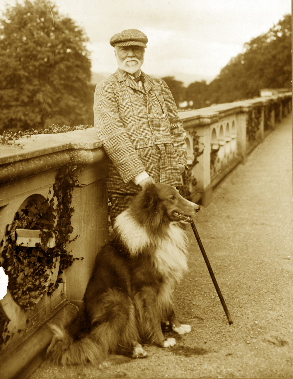 Andrew Carnegie at Skibo Castle