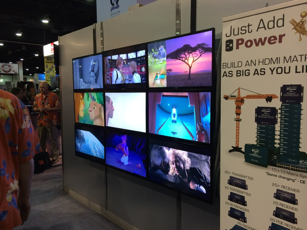 Just Add Power video wall