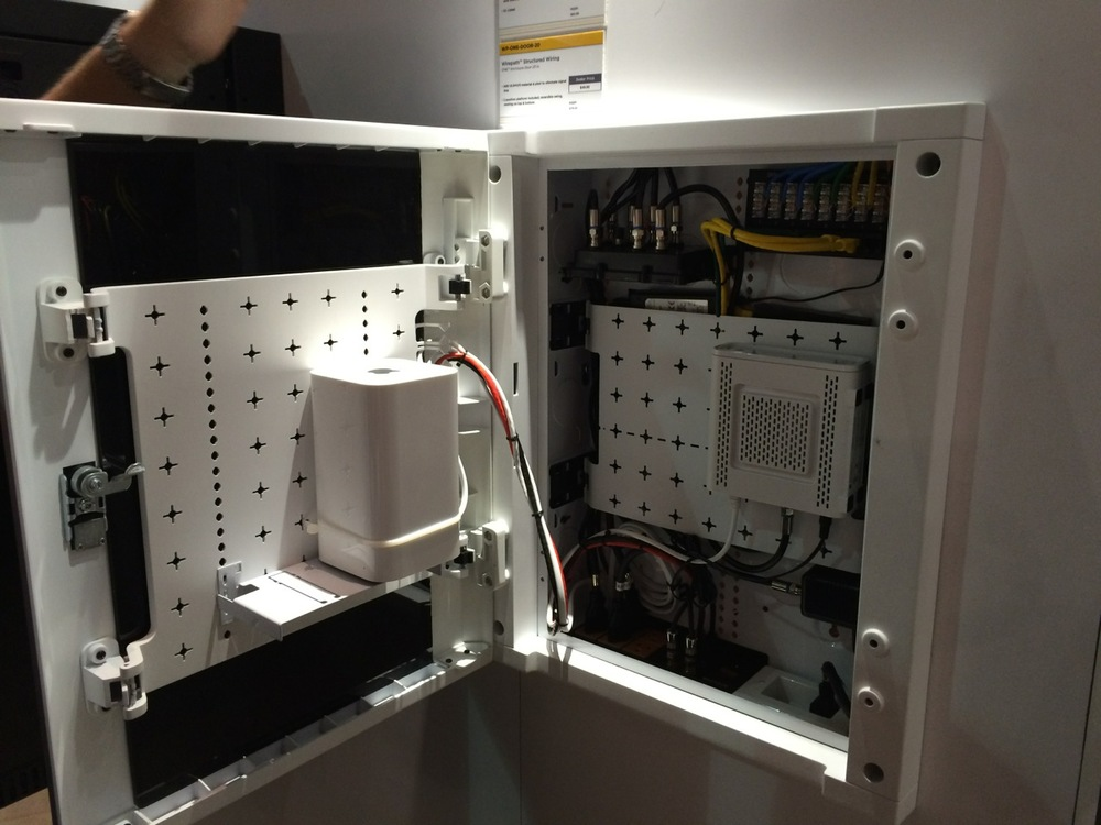 SnapAV Structured wiring cabinet