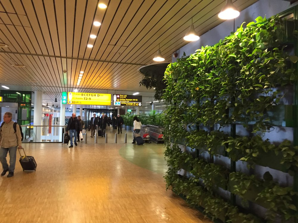 Schiphol Airport, Amsterdam