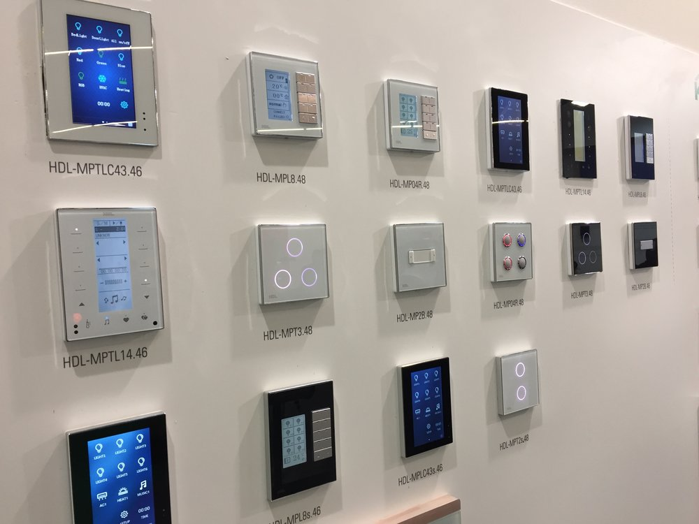 Keypads and switches galore