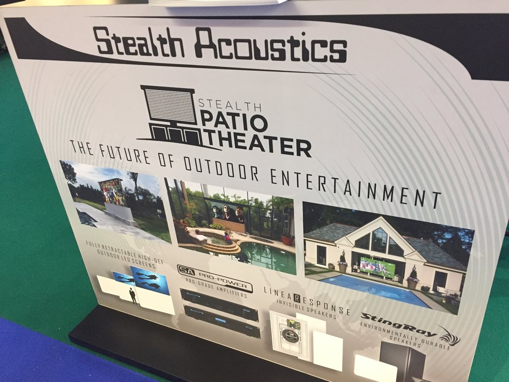 Stealth Acoustics Patio Theater