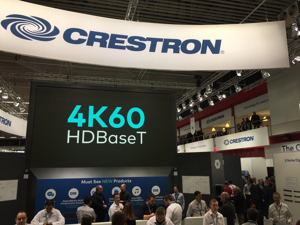 Crestron's massive stand
