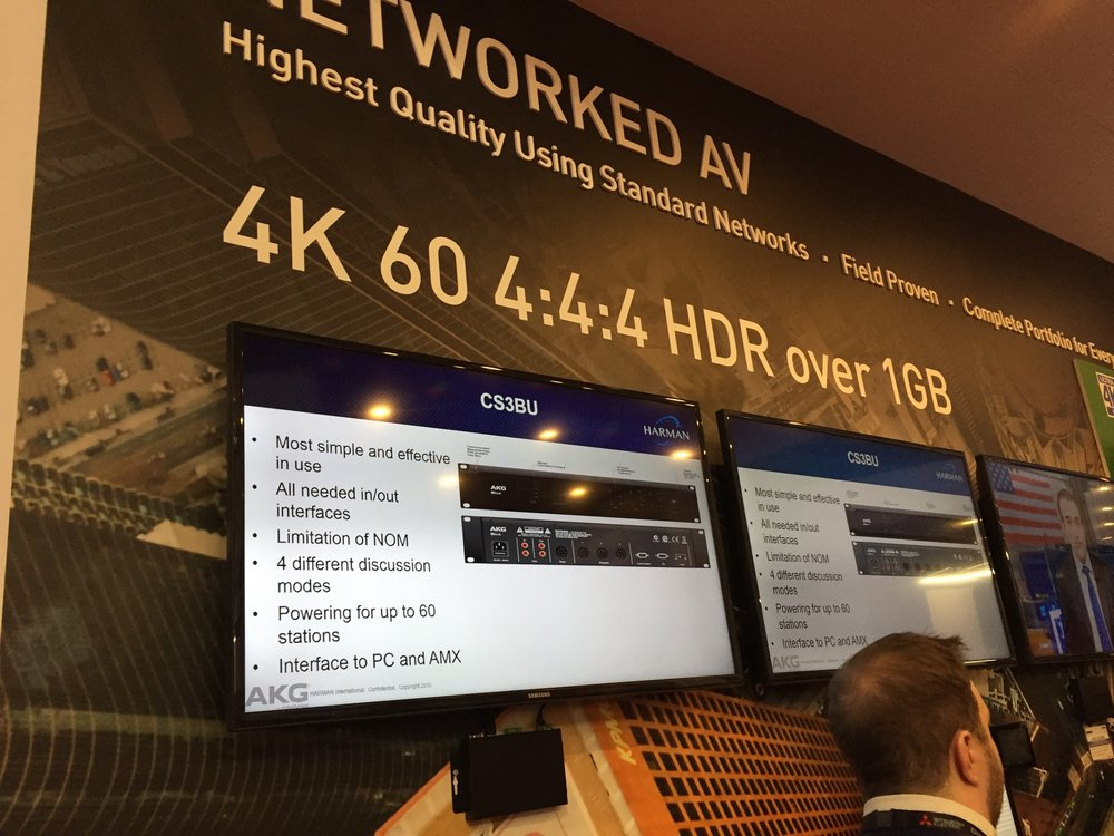 More 4K 60 4.4.4 - This seems to be everywhere at the show