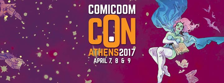 Poster of Comicdom 2017 made by DaNi