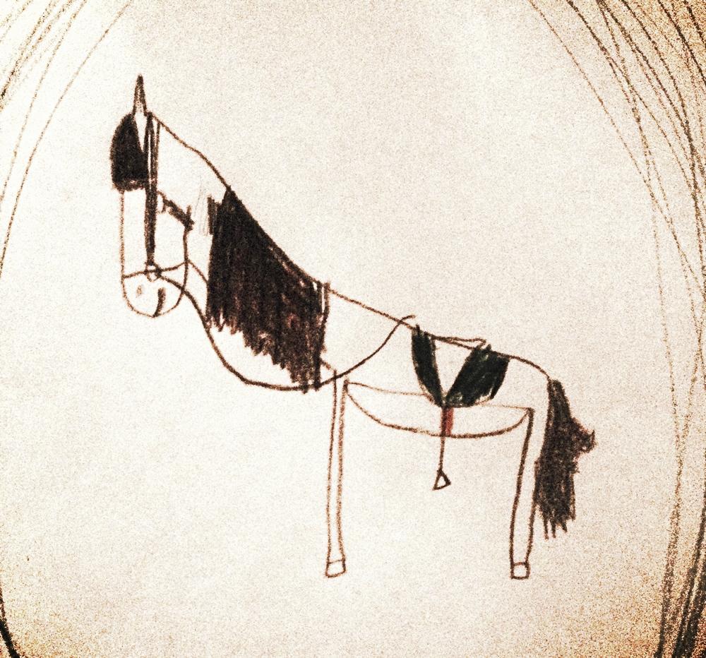 Juni, 7 years draws ponies 24/7.