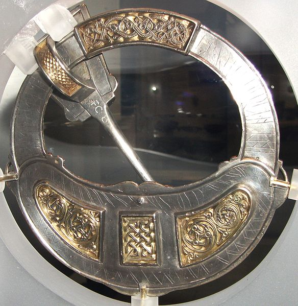 The pseudo-penannular  Tara Brooch