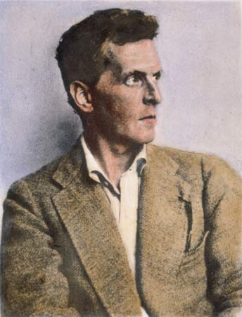 Ludwig Wittgenstein, oil over a photograph, undated.  The Granger Collection, New York