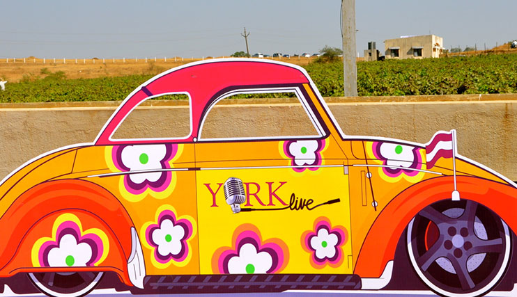 York live at York winery Nashik.