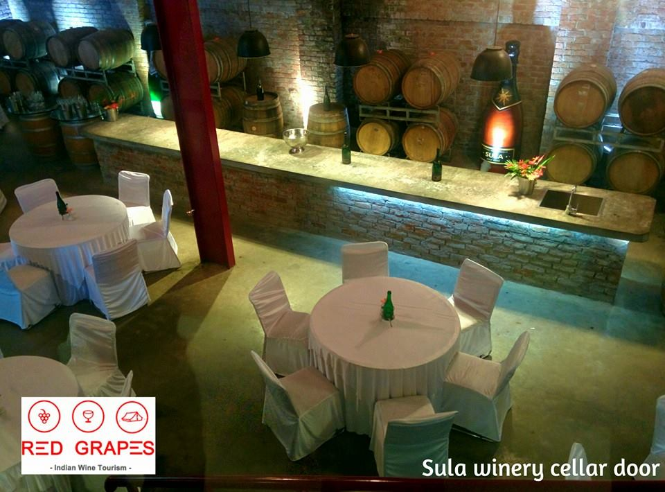 Sula winery, tasting room | Nashik wine tour