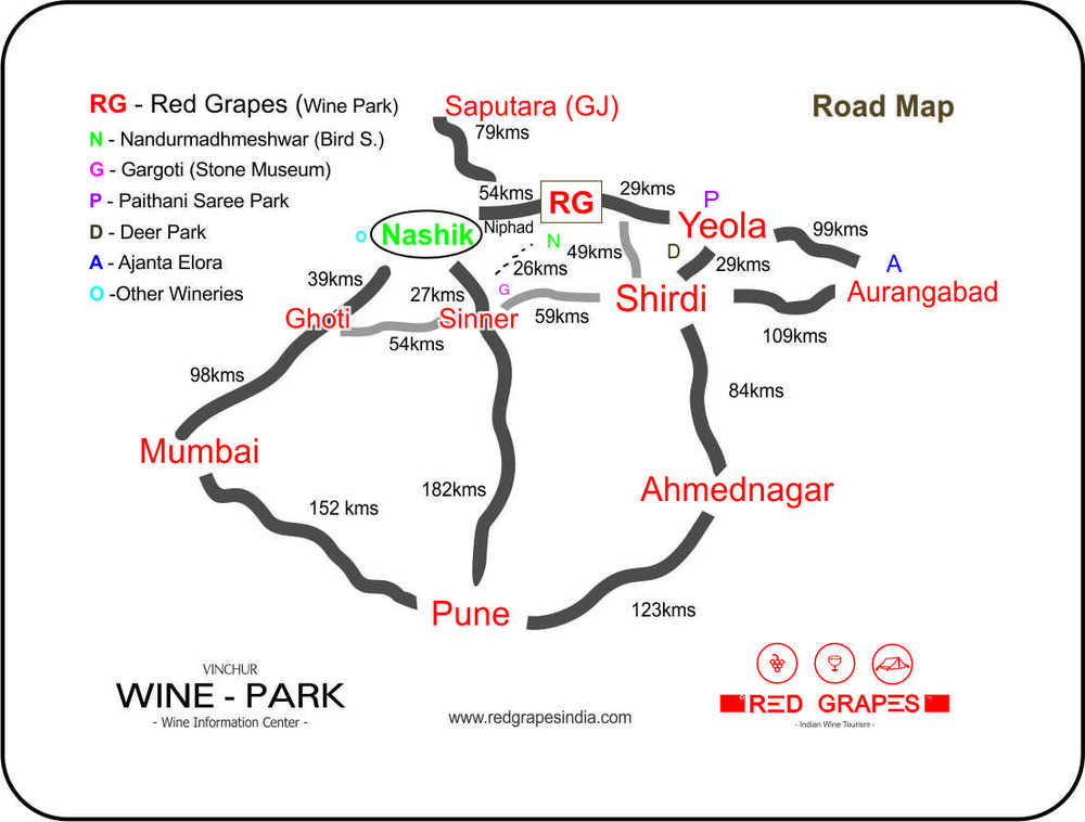 Road Map to Red Grapes