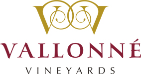vallonne vineyards logo