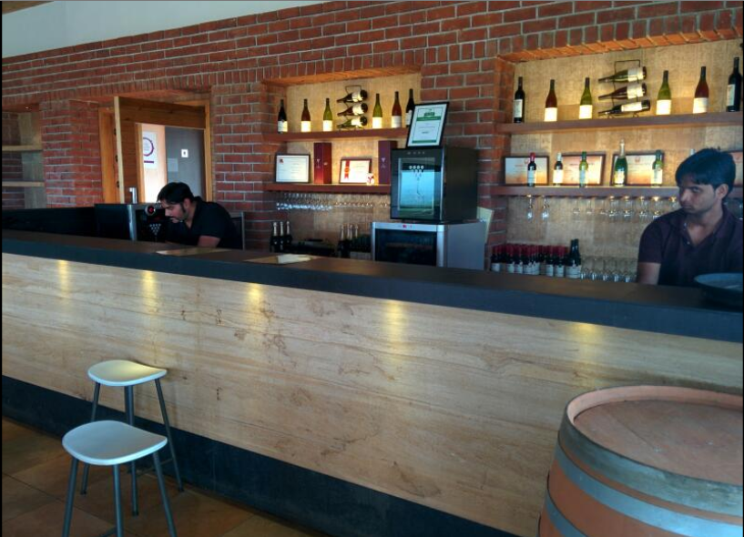 Nashik wine tour | York winery tasting room cellar door