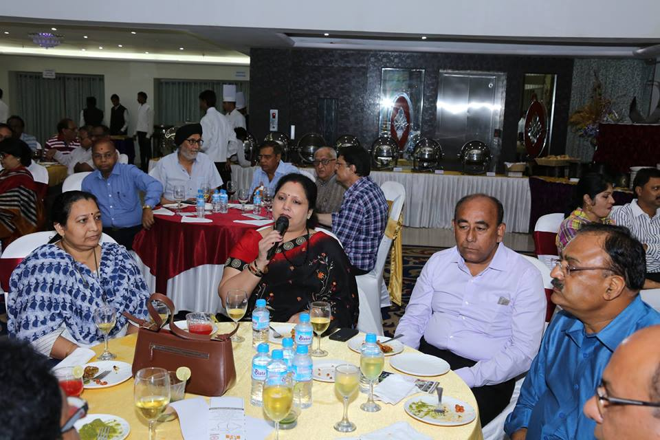 Nagpur Wine lovers club presentation by Red Grapes.