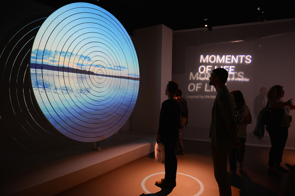 ASUS made a trippy, interactive exhibition