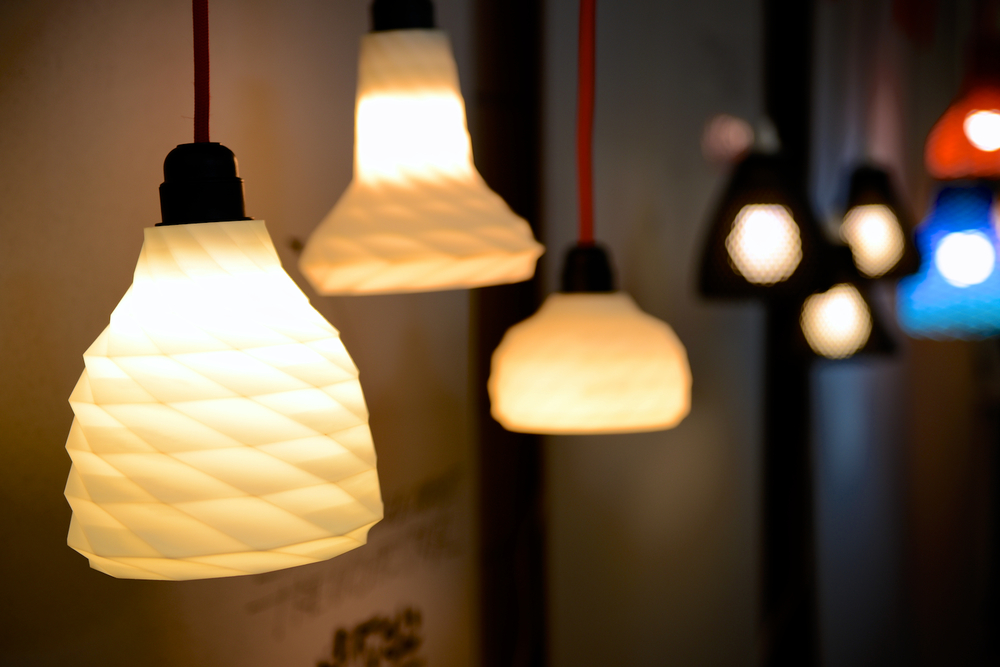 3D printers can't make lightbulbs (yet), but they can definitely print some pretty cool lamps!