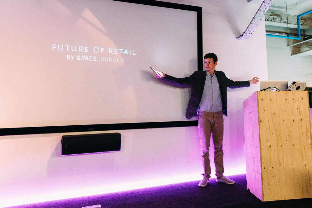 One of the pictures I shot at the Future of Retail event held by Space Lounges at the Microsoft Ventures Accelerator in London