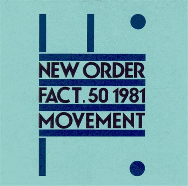 Peter Saville - New Order -  Movement  (1981)