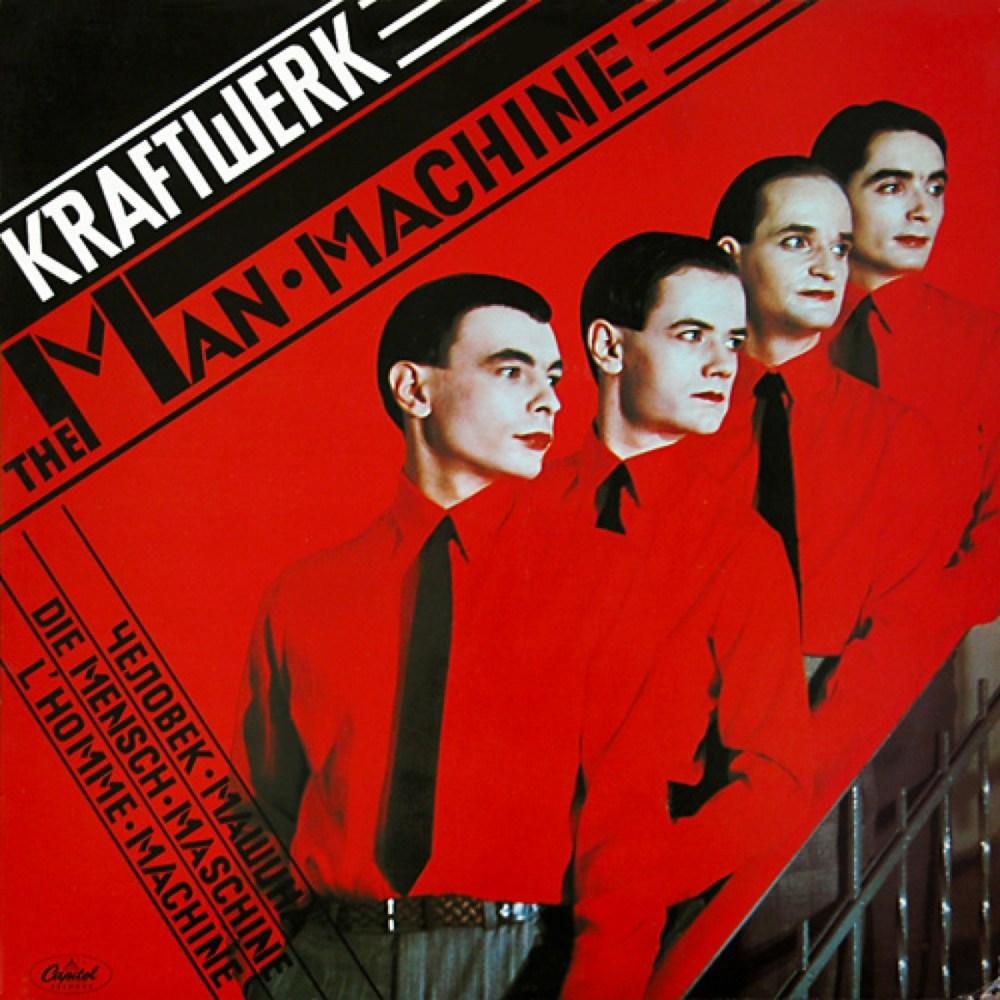 Kraftwerk -  The Man-Machine  (1978)