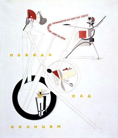 El Lissitzky -  Schaumachinerie (1913)