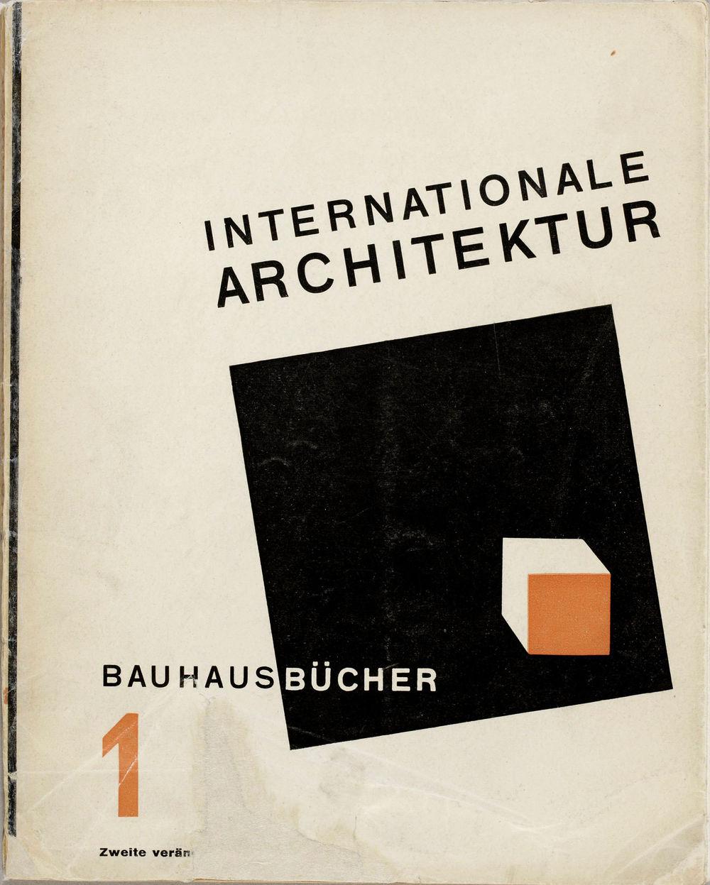 Laszlo Moholy-Nagy -  Baugausbücher  (1925)