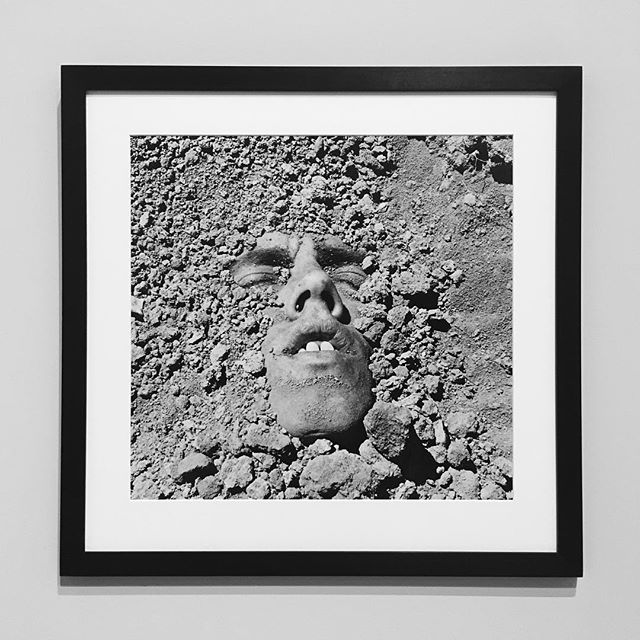 David Wojnarowicz, Untitled (Face in Dirt), 1991. One of my personal favorites from the Whitney's recent survey show devoted to the artist, David Wojnarowicz: History Keeps Me Awake at Night. — @whitneymuseum #davidwojnarowicz #whitneymuseum #contemporaryart #photography #blackandwhitephotography #selfportrait #aidsawareness #museum #museumshow #soloshow #artnet #conceptualphotography #newyorkart #historykeepsmeawakeatnight