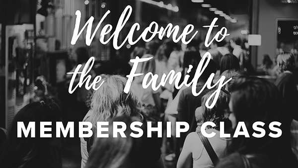MEMBERSHIP CLASS - Sunday September 16th, we will be having our next Membership Class at the church offices immediately following church.  Lunch will be provided!CLICK HERE TO SIGN UP