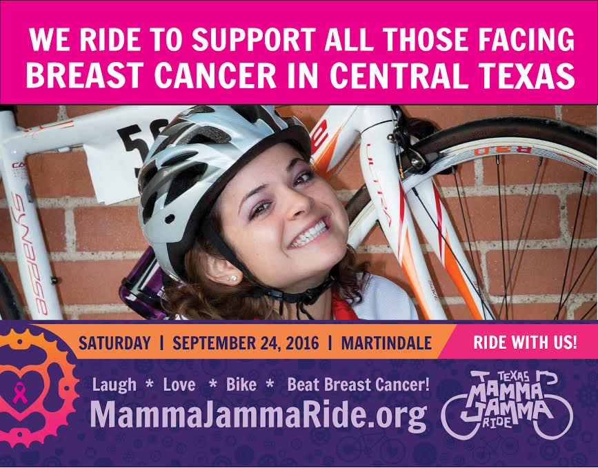 Join us on  Monday June 13th  at Amy's and Phil's in the Austinville 78750 shopping center to support Texas Mamma Jamma Ride! If enough people mention their organization while ordering, we will share a portion of the day's sales with them!   Mamma Jamma is a bike ride held every year in the fall.  Funds raised by riders support local programs and services for breast cancer fighters and survivors.  The ride creates awareness of the resources, support and help available to people in all stages of their breast cancer journey.    We hope to see you there!