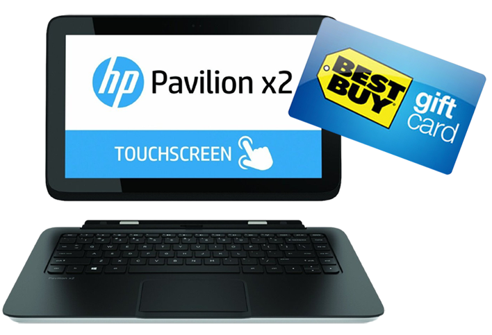 Win an HP Pavilion x2 or $250 Best Buy Gift Card!