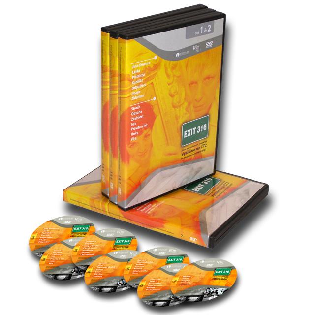 Kompletní série všech dílů pořadu EXIT316    199Kč    Kompletní série všech dílů pořadu EXIT316, včetně evangelizačního DVD Propast a Hned poté (celkem 7 DVD) za zvýhodněnou cenu