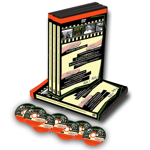 Kompletní série všech dílů pořadu EXIT316 MISE    299Kč    Kompletní série všech dílů pořaduEXIT316 MISE, (celkem 7 DVD).Volné pokračování publicisticko-vzdělávacího pořadu EXIT 316.