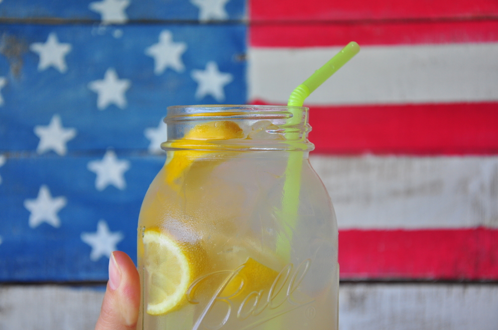 Fresh-squeezed Lemonade! A simple, but delicious drink. Take it to picnics and bbq's!