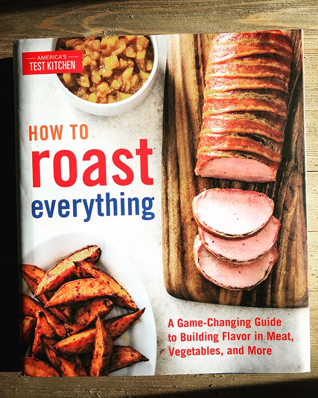 "*Giveaway* Win a copy of @testkitchen's new cook book ""How To Roast Everything""! Comment your favorite emoji! Winner announced tomorrow ❤️"